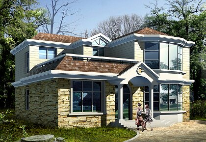 12x8米房子设计图