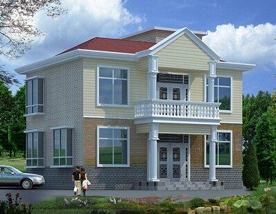 农村二层房屋设计图_二层小别墅设计_二层楼房设计