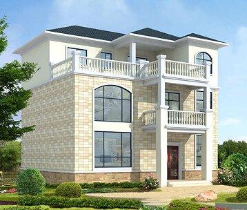 设计图_高端大气农村自建房设计图_农村房屋设计图 - 轩鼎房屋图纸