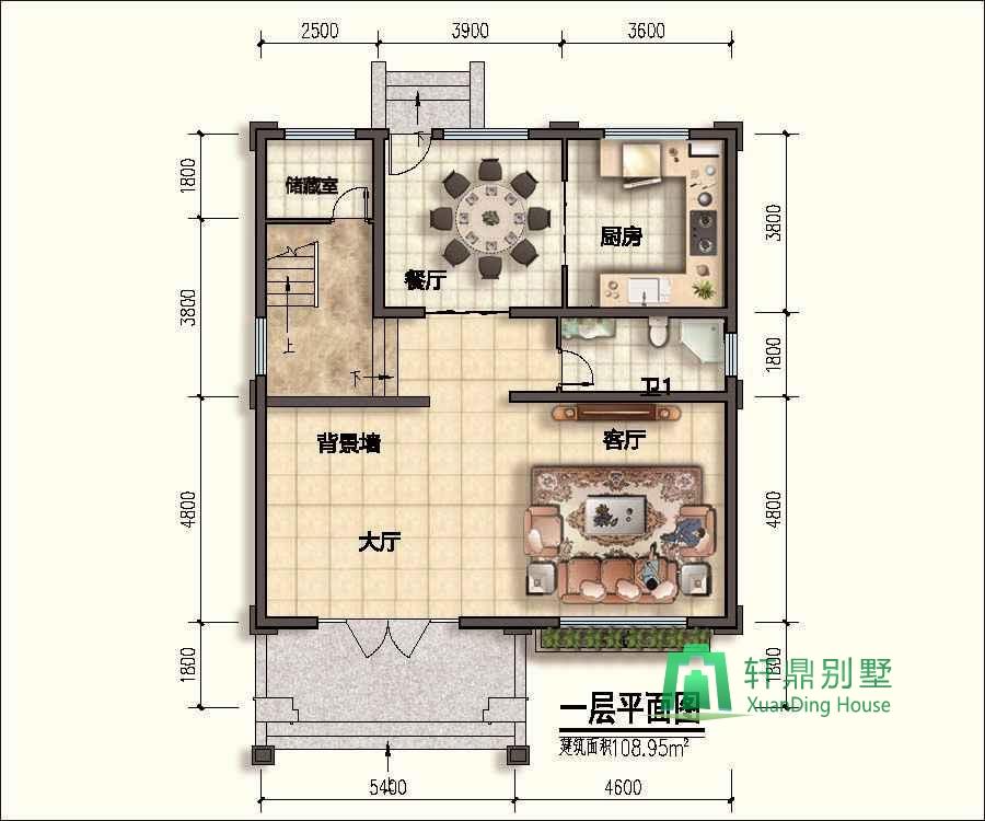 圖紙為A3施工激光藍圖+ A4高清效果圖照片,不提供電子版 圖紙介紹: 三層中式自建別墅,外觀端莊大氣,占地129,帶有大面積露臺,還有小面積庭院,內部布局依照業主要求,帶有多個臥室,是一款非常實用的方案。 設計功能: 一層:大廳、客廳、廚房、餐廳、衛生間、儲藏室。 二層:臥室(帶衛生間)、臥室3、衛生間。 三層:臥室(帶衛生間、衣帽間)、臥室、露臺。 施工參數: 建筑層數:地上3層,建筑總高度(到屋脊高度):12.
