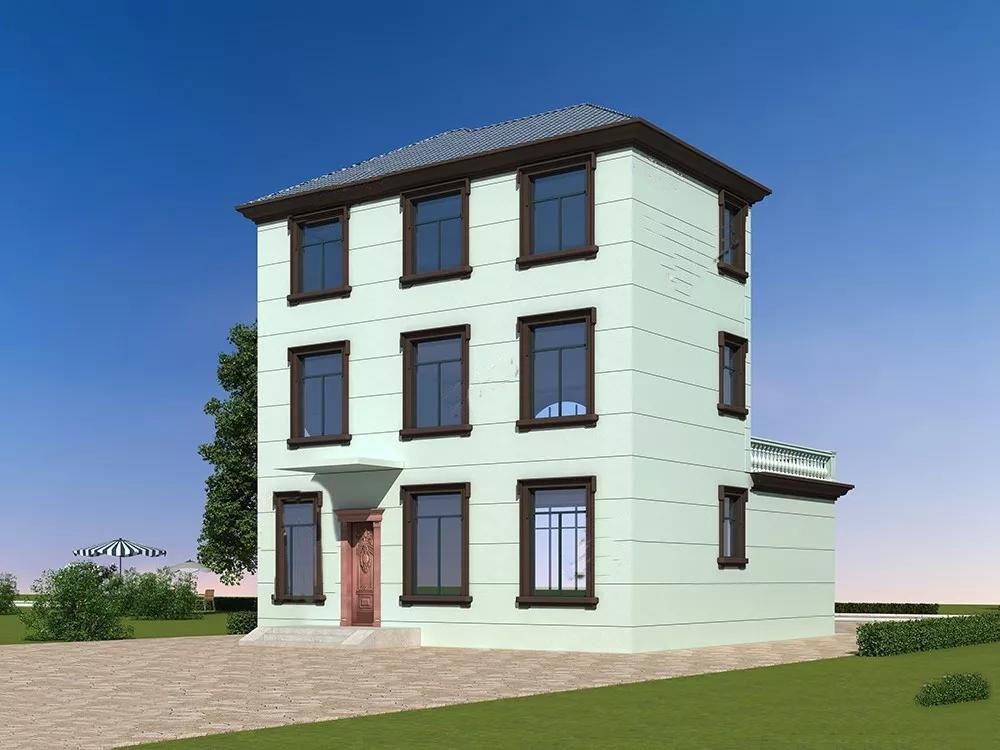 农村房屋设计图_别墅设计_自建房—