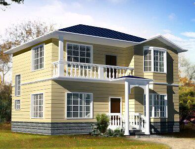 5米房屋设计图 地面是12x9.8米,南北长,东西短