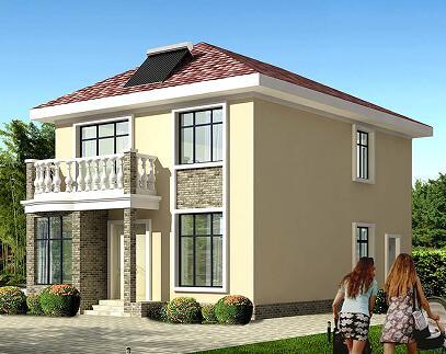 图纸 农村别墅设计 新农村房屋设计图 农村二层两